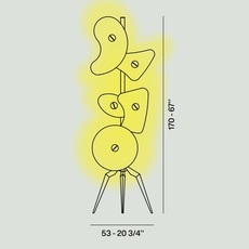 Orbital ferruccio laviani lampadaire floor light  foscarini 36003  design signed nedgis 91470 thumb