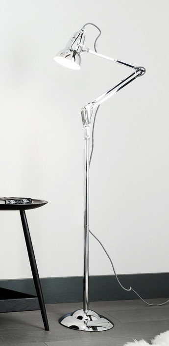 Lampadaire original 1227 chrome h153cm anglepoise normal
