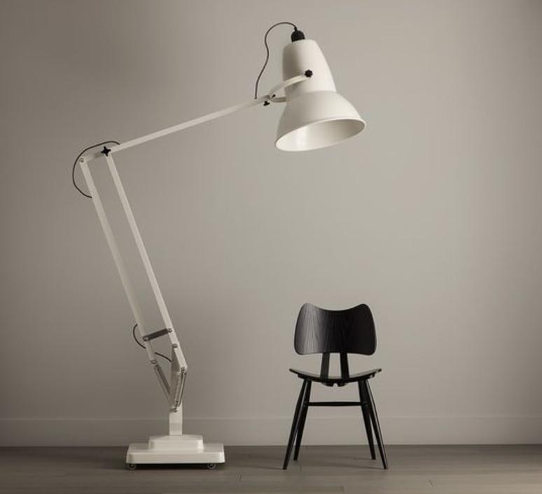 lampadaire original 1227 giant blanc h181cm anglepoise luminaires nedgis. Black Bedroom Furniture Sets. Home Design Ideas