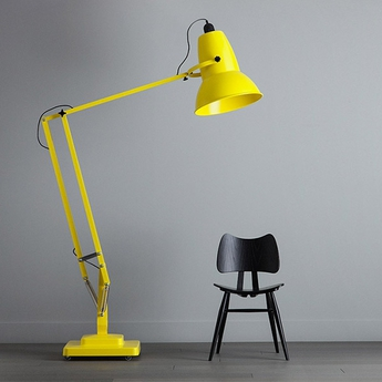 Lampadaire original 1227 giant jaune citron h181cm anglepoise normal