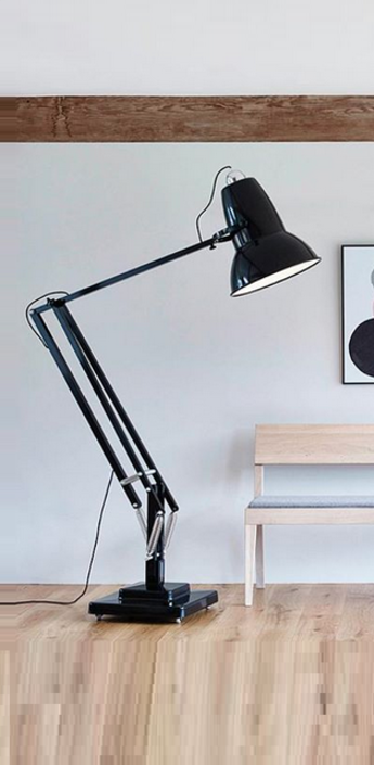 Lampadaire original 1227 giant noir h184cm anglepoise normal