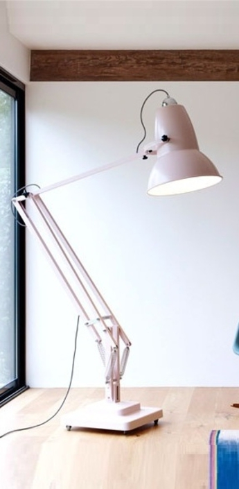 Lampadaire original 1227 giant rose pale h181cm anglepoise normal