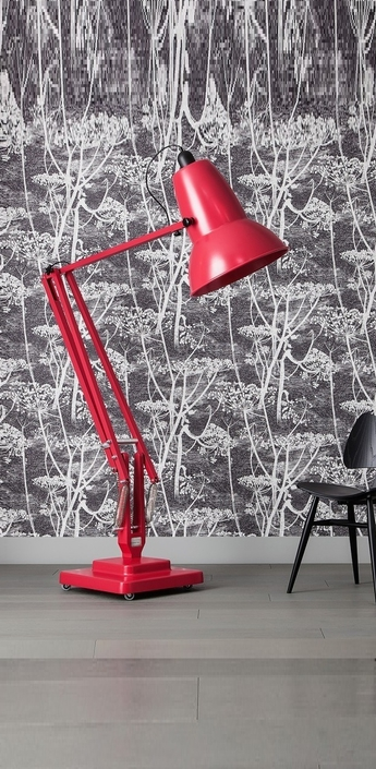 Lampadaire original 1227 giant rouge carmin h181cm anglepoise normal