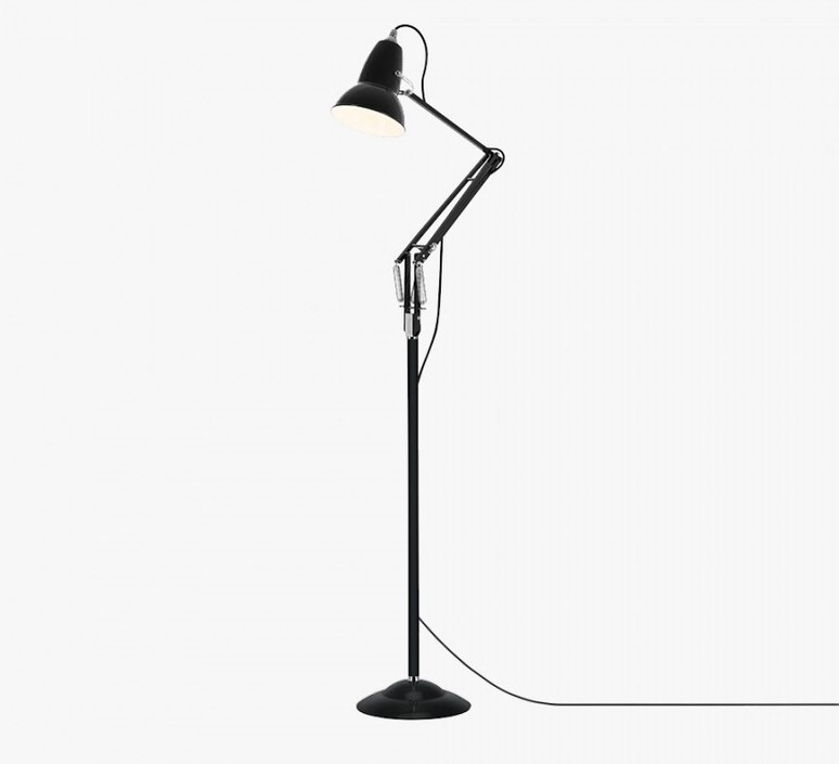 Original 1227 george carwardine lampadaire floor light  anglepoise 31645  design signed 40863 product