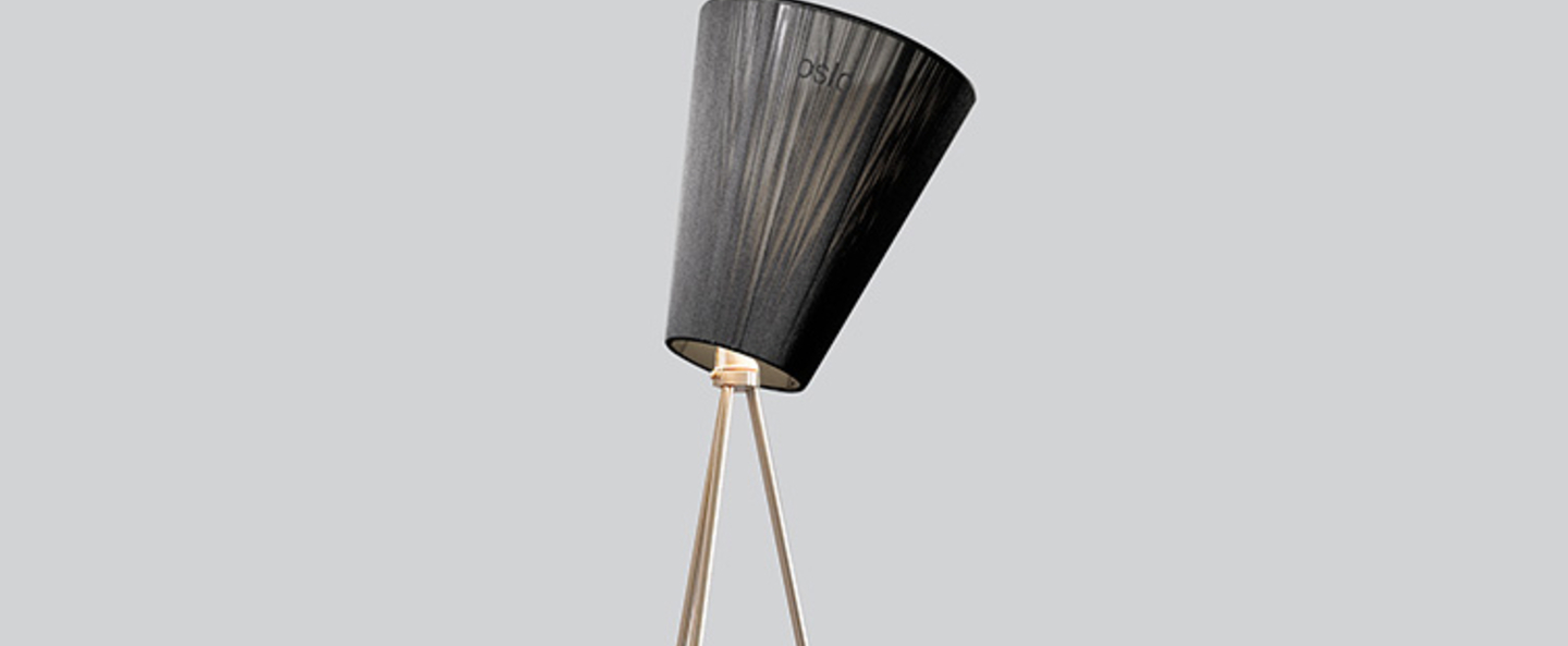 Lampadaire oslo wood noir metallic h165cm northern lighting normal