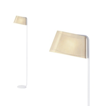 Lampadaire owalo 7010 bouleau naturel led o7cm h168cm secto design normal