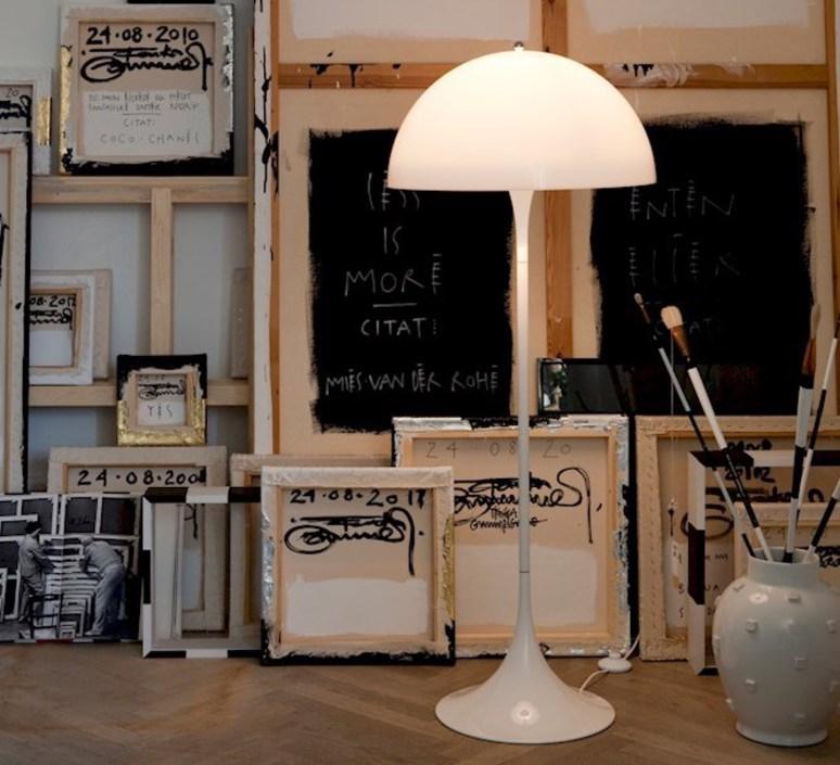 Panthella  verner panton lampadaire floor light  louis poulsen 5744163350  design signed 48997 product