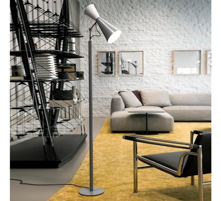 Parliament charles le corbusier lampadaire floor light  nemo lighting par edw 21  design signed 58055 product