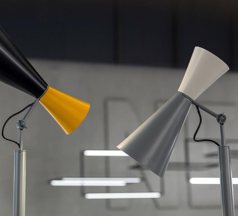 Parliament charles le corbusier lampadaire floor light  nemo lighting par edw 21  design signed 58056 product