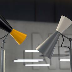Parliament charles le corbusier lampadaire floor light  nemo lighting par edw 21  design signed 58056 thumb