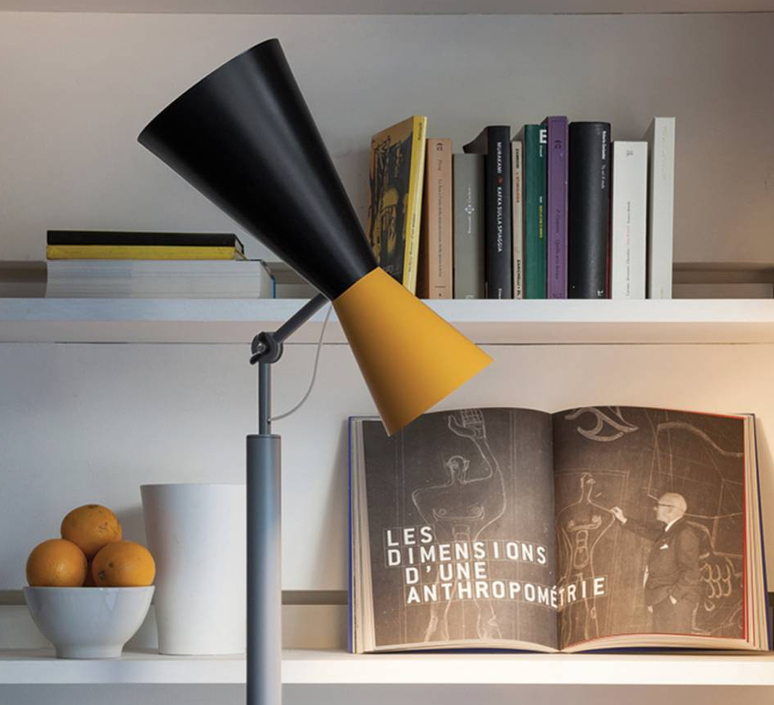 Parliament charles le corbusier lampadaire floor light  nemo lighting par eng 21  design signed 58060 product
