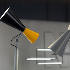 Parliament charles le corbusier lampadaire floor light  nemo lighting par eng 21  design signed 58061 thumb
