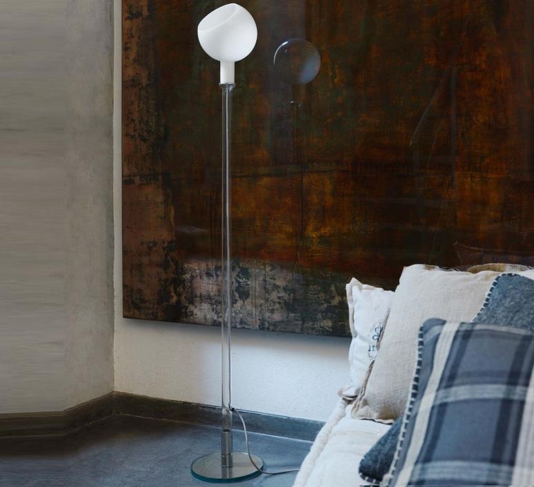 lampadaire parola blanc h155cm fontana arte luminaires nedgis. Black Bedroom Furniture Sets. Home Design Ideas