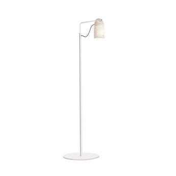 Lampadaire paros alabaster blanc l35cm h135cm alma light normal