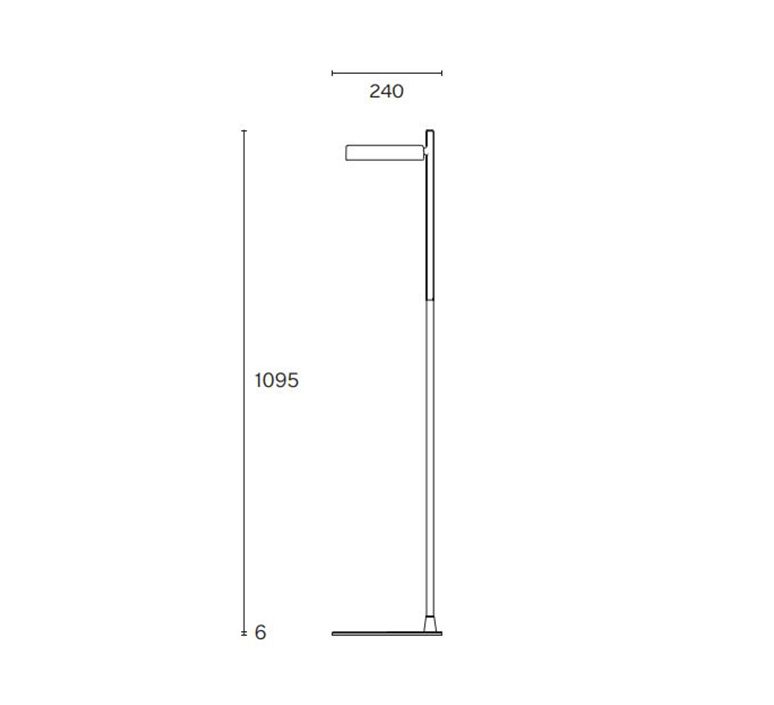Pastille f2 industrial facility lampadaire floor light  wastberg 182f29011  design signed nedgis 123341 product