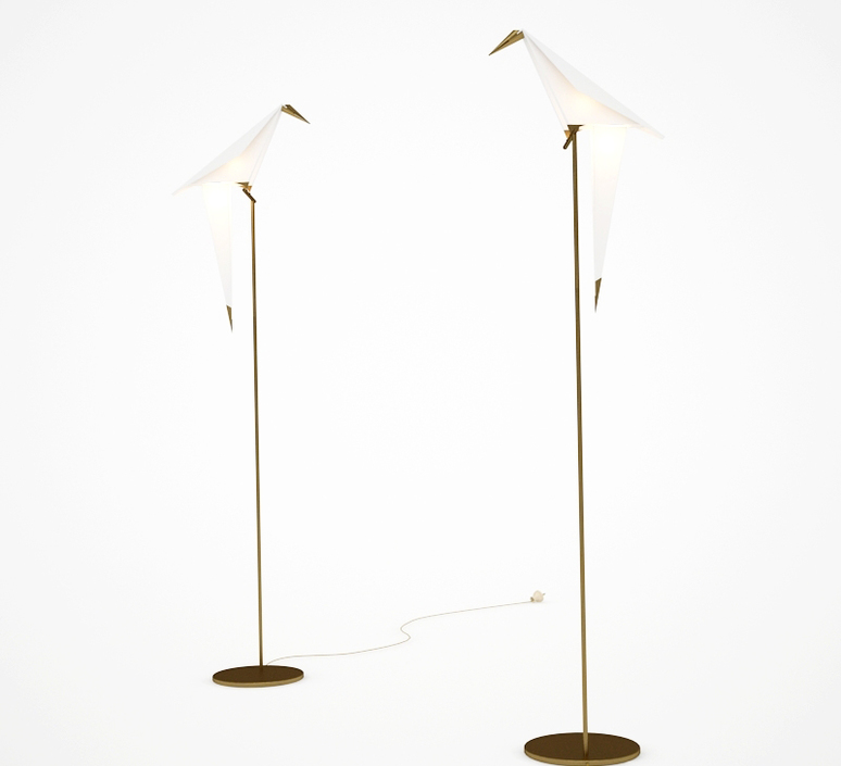 Perch light floor umut yamac lampadaire floor light  moooi molplf   design signed 35327 product