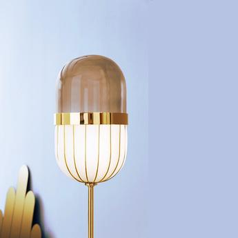 Lampadaire pill blanc laiton o40cm h176cm mm lampadari 7237 lt1 02 v0216 normal