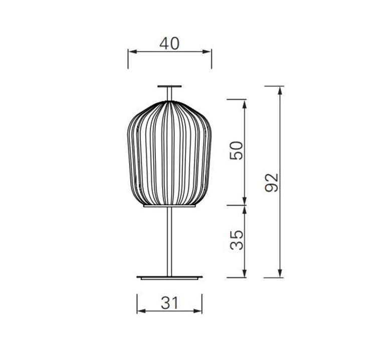Plissee sebastian herkner lampadaire floor light  classicon plissee bronze  design signed nedgis 90977 product