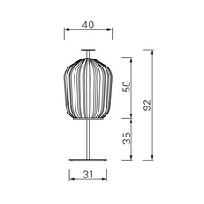 Plissee sebastian herkner lampadaire floor light  classicon plissee bronze  design signed nedgis 90977 thumb