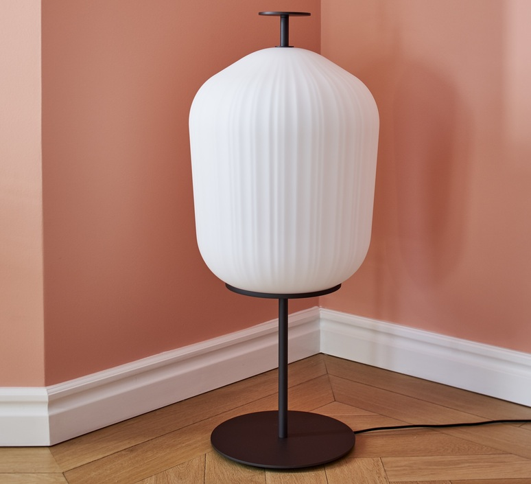 Plissee sebastian herkner lampadaire floor light  classicon plissee bronze  design signed nedgis 90980 product
