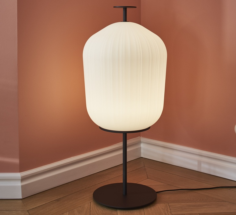 Plissee sebastian herkner lampadaire floor light  classicon plissee bronze  design signed nedgis 90981 product