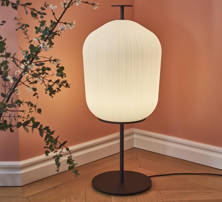 Plissee sebastian herkner lampadaire floor light  classicon plissee bronze  design signed nedgis 90982 product