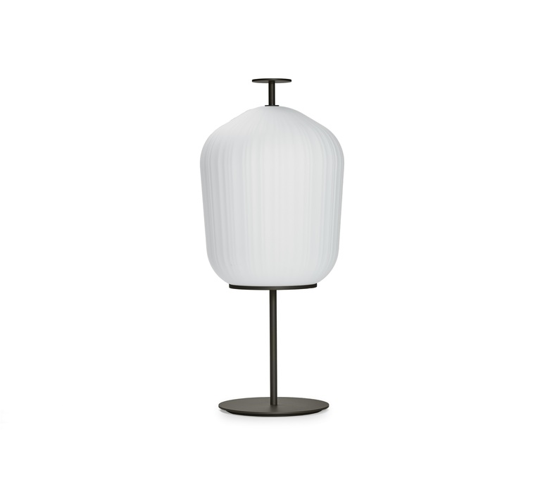 Plissee sebastian herkner lampadaire floor light  classicon plissee bronze  design signed nedgis 90983 product