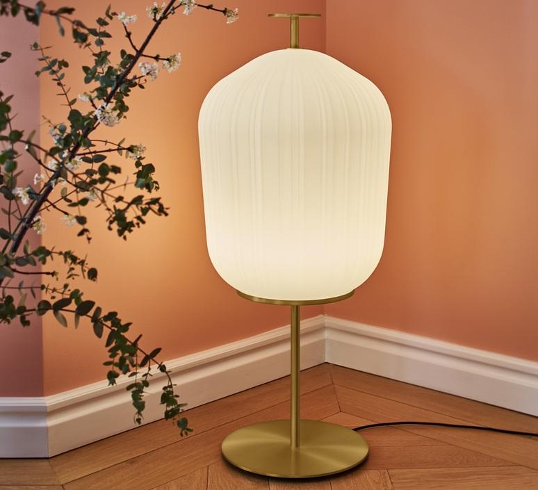 Plissee sebastian herkner lampadaire floor light  classicon plissee brass  design signed nedgis 90974 product