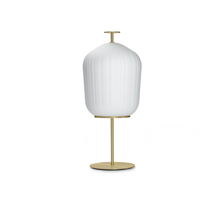 Plissee sebastian herkner lampadaire floor light  classicon plissee brass  design signed nedgis 90975 product