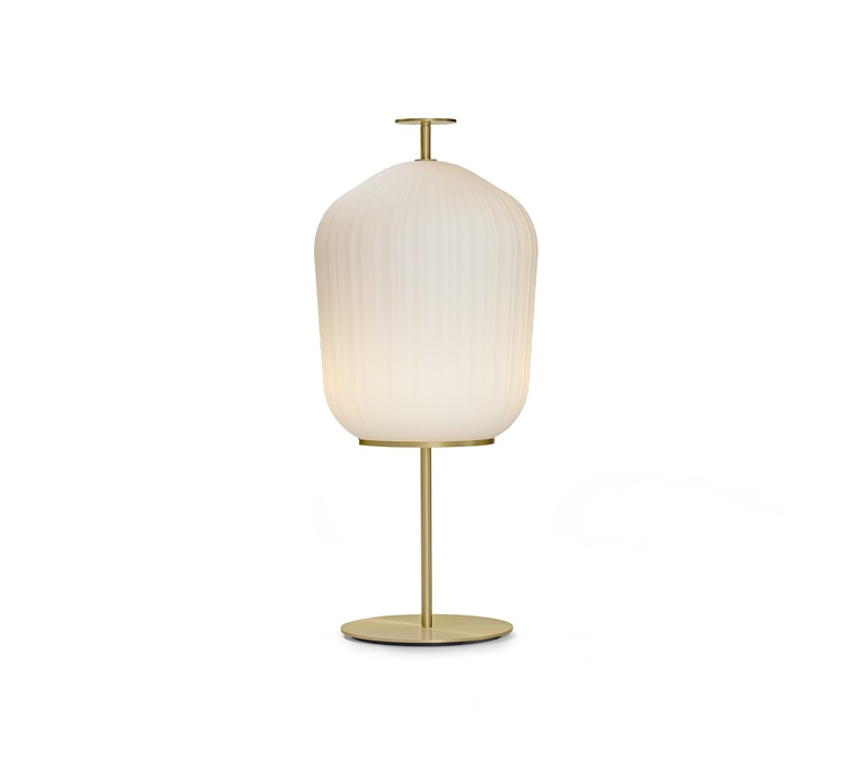 Plissee sebastian herkner lampadaire floor light  classicon plissee brass  design signed nedgis 90976 product