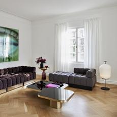Plissee sebastian herkner lampadaire floor light  classicon plissee black  design signed nedgis 90961 thumb