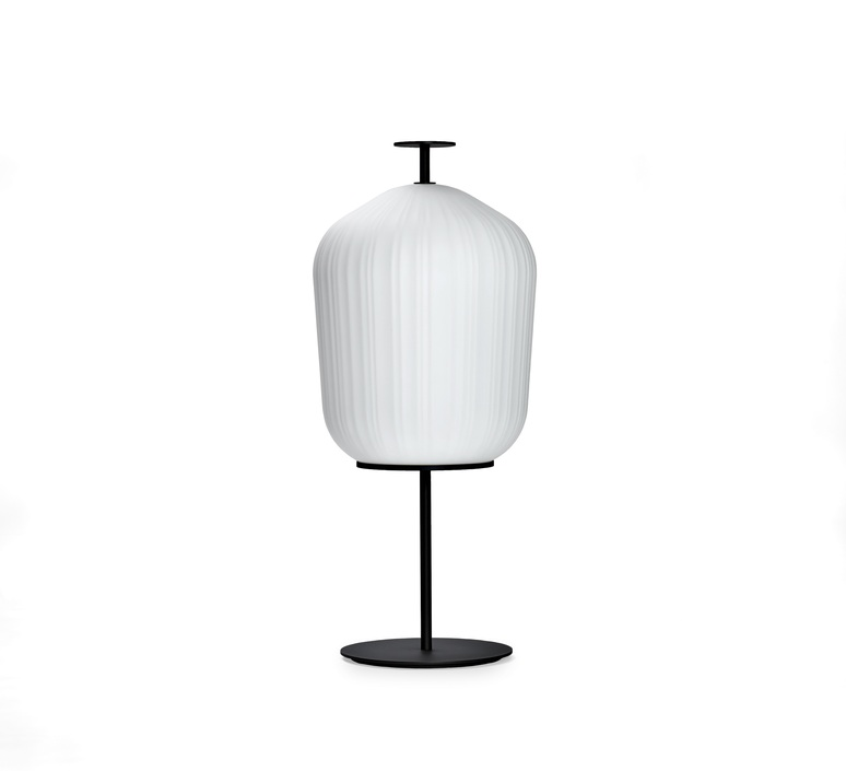 Plissee sebastian herkner lampadaire floor light  classicon plissee black  design signed nedgis 90965 product