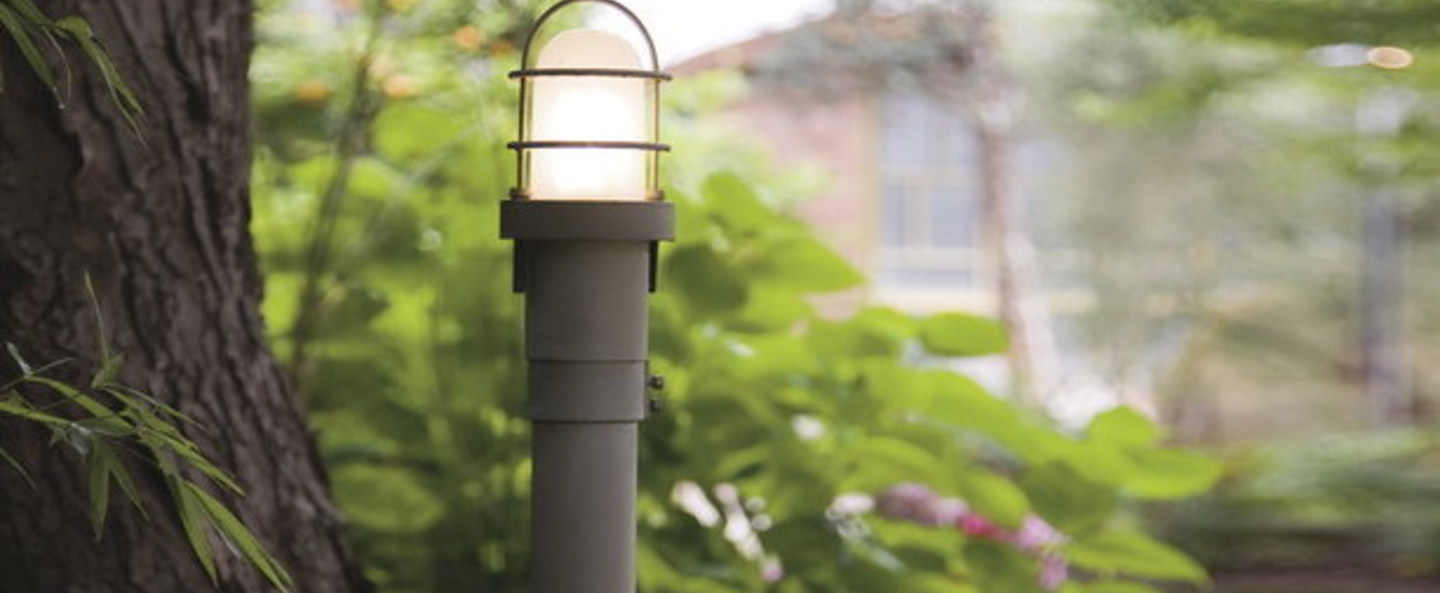 Lampadaire polo 100 anthracite led o13cm h110cm martinelli luce normal