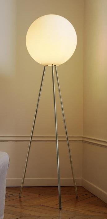 Lampadaire prima senora transparent h180cm fontana arte normal