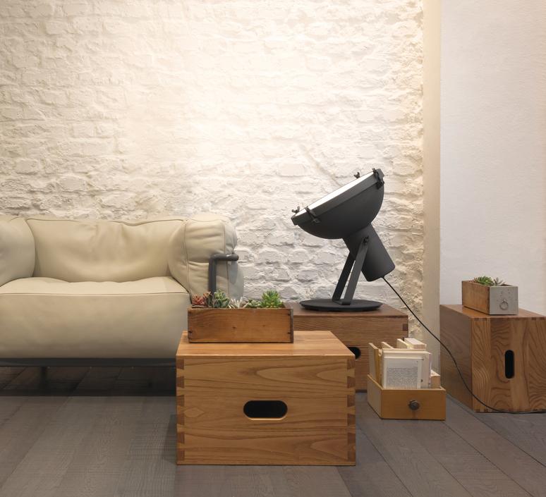 Projecteur 365 charles le corbusier lampadaire floor light  nemo lighting prj edw 2a  design signed 58197 product