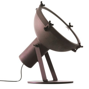 Lampadaire projecteur 365 moka l43cm h43cm nemo lighting normal