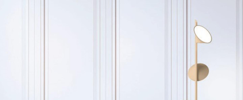 Lampadaire pt orchid sable led o35cm h184cm axo light normal