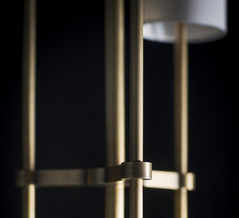 Pugil robbie llewellyn et adam yeats lampadaire floor light  bert frank pugil wh br  design signed nedgis 75177 product