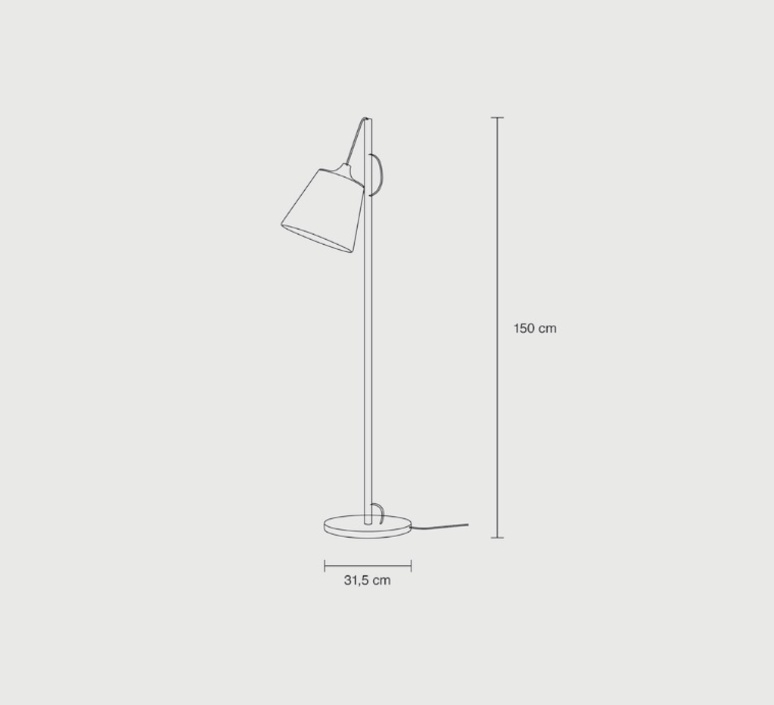 Pull whatswhat lampadaire floor light  muuto 12041  design signed 33708 product