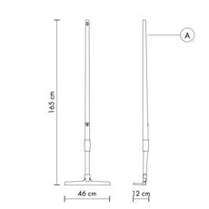 Rateau tobia matteo ugolini lampadaire floor light  karman tobia hp145 3r ext  design signed 37708 thumb
