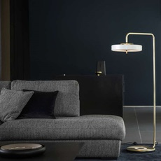 Revolve  lampadaire floor light  bert frank revolve floor lamp white  design signed 36008 thumb