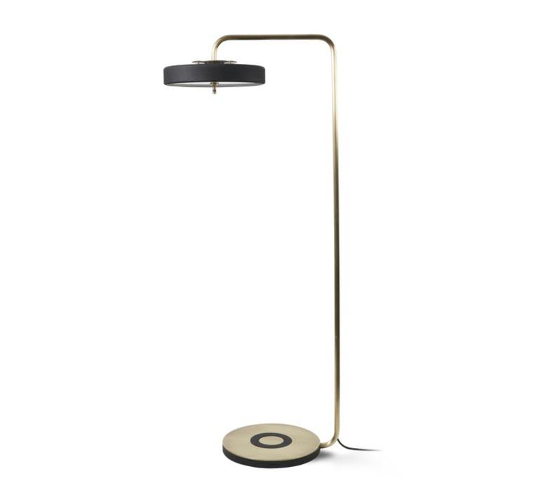 Revolve  lampadaire floor light  bert frank revolve floor lamp black  design signed 36006 product