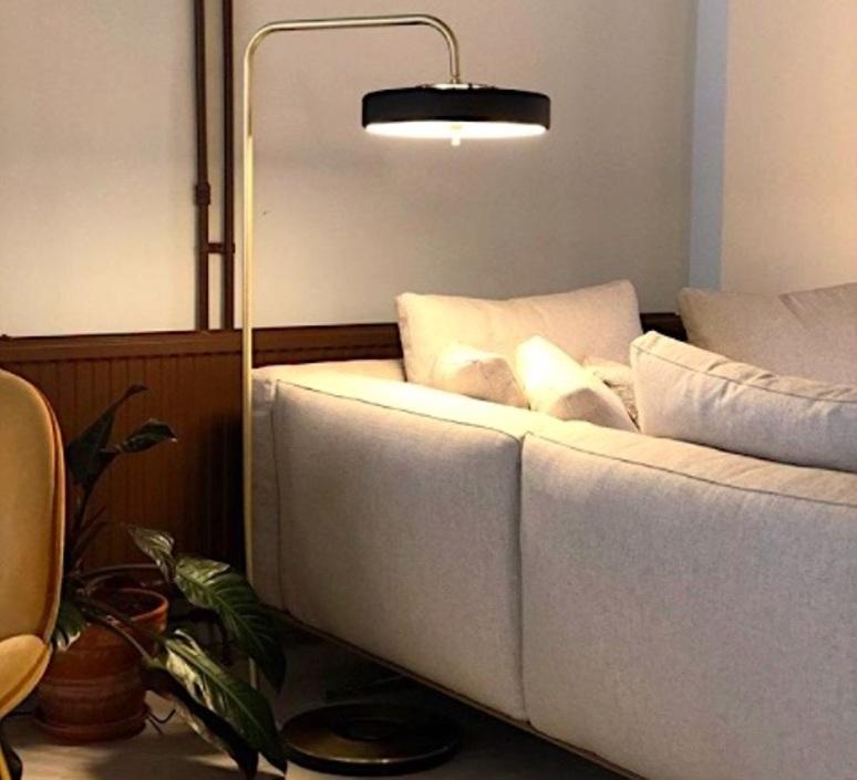 Revolve  lampadaire floor light  bert frank revolve floor lamp black  design signed 94415 product