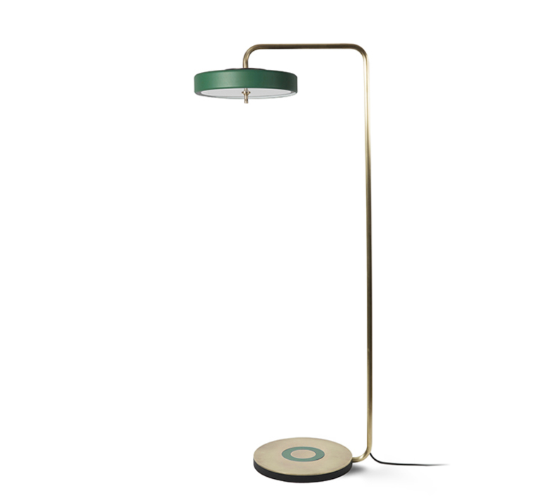 Revolve  lampadaire floor light  bert frank revolve floor lamp blue  design signed 41934 product