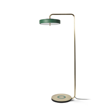 Revolve  lampadaire floor light  bert frank revolve floor lamp blue  design signed 41934 thumb
