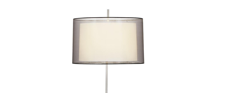 Lampadaire saba beige o48cm h160cm faro normal