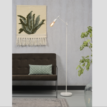 Lampadaire sheffield f w blanc o47cm h170cm it s about romi normal