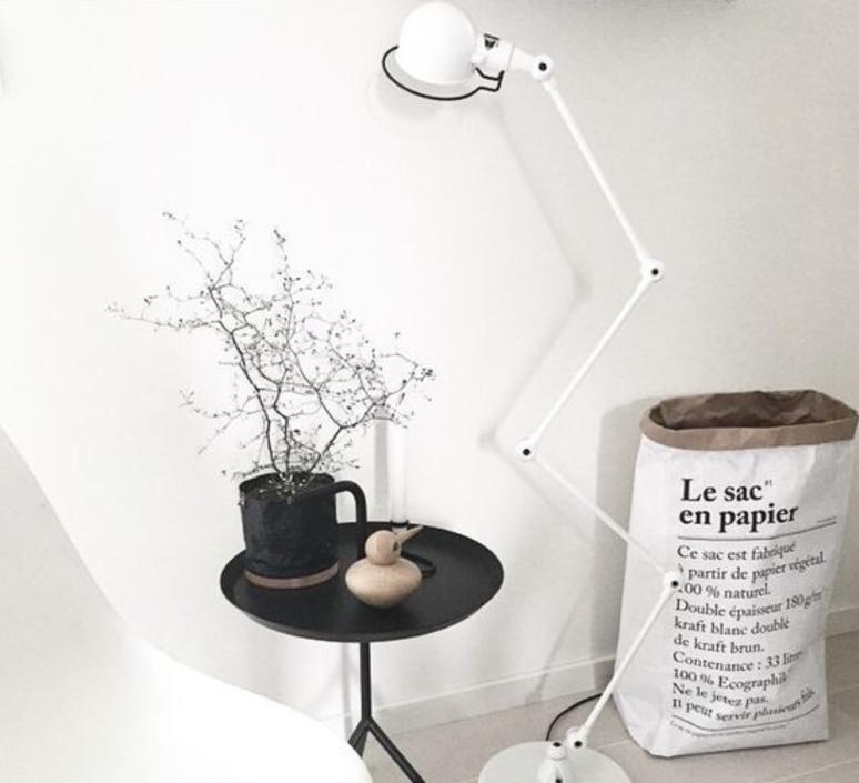 Signal 4 bras jean louis domecq lampadaire floor light  jielde si433 blc  design signed 35697 product