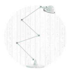 Signal 4 bras jean louis domecq lampadaire floor light  jielde si433 blc  design signed 35700 thumb
