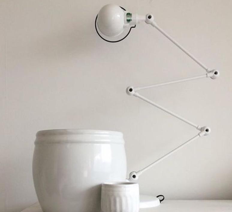 Signal 4 bras jean louis domecq lampadaire floor light  jielde si433 blc  design signed 35701 product